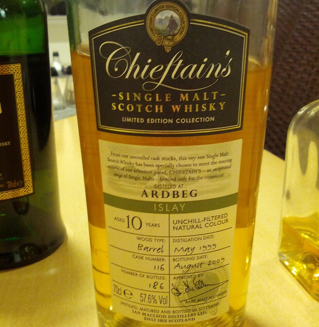 Ardbeg 1999 10 YO Chieftain's Choice