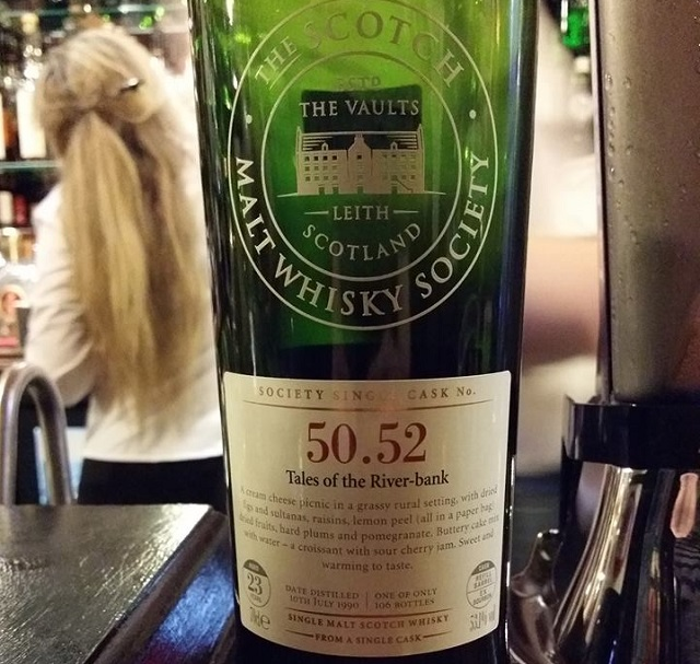 SMWS 50.52 Tales of the River-bank