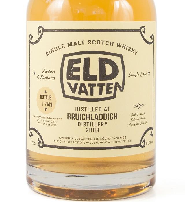 Bruichladdich 2003 11 YO Svenska Eldvatten