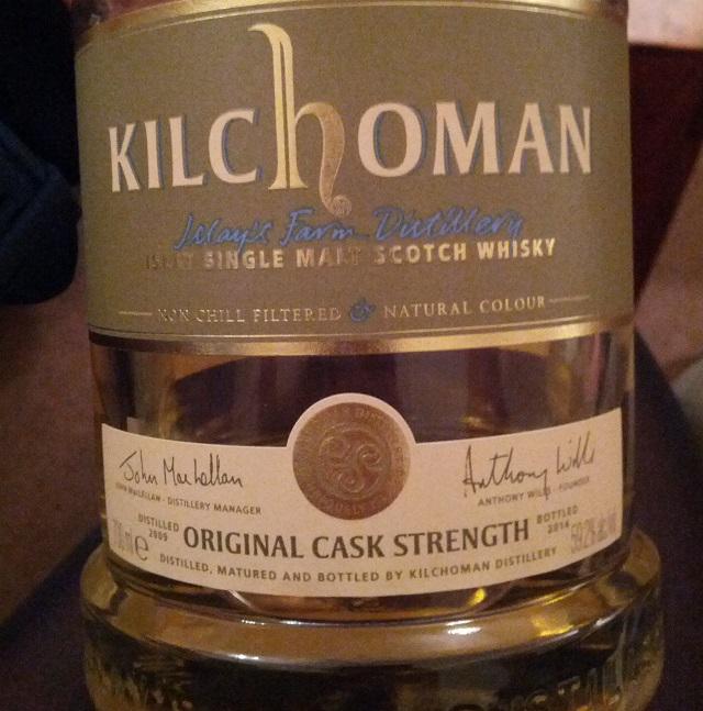 Kilchoman 2009 5 YO Original Cask Strength