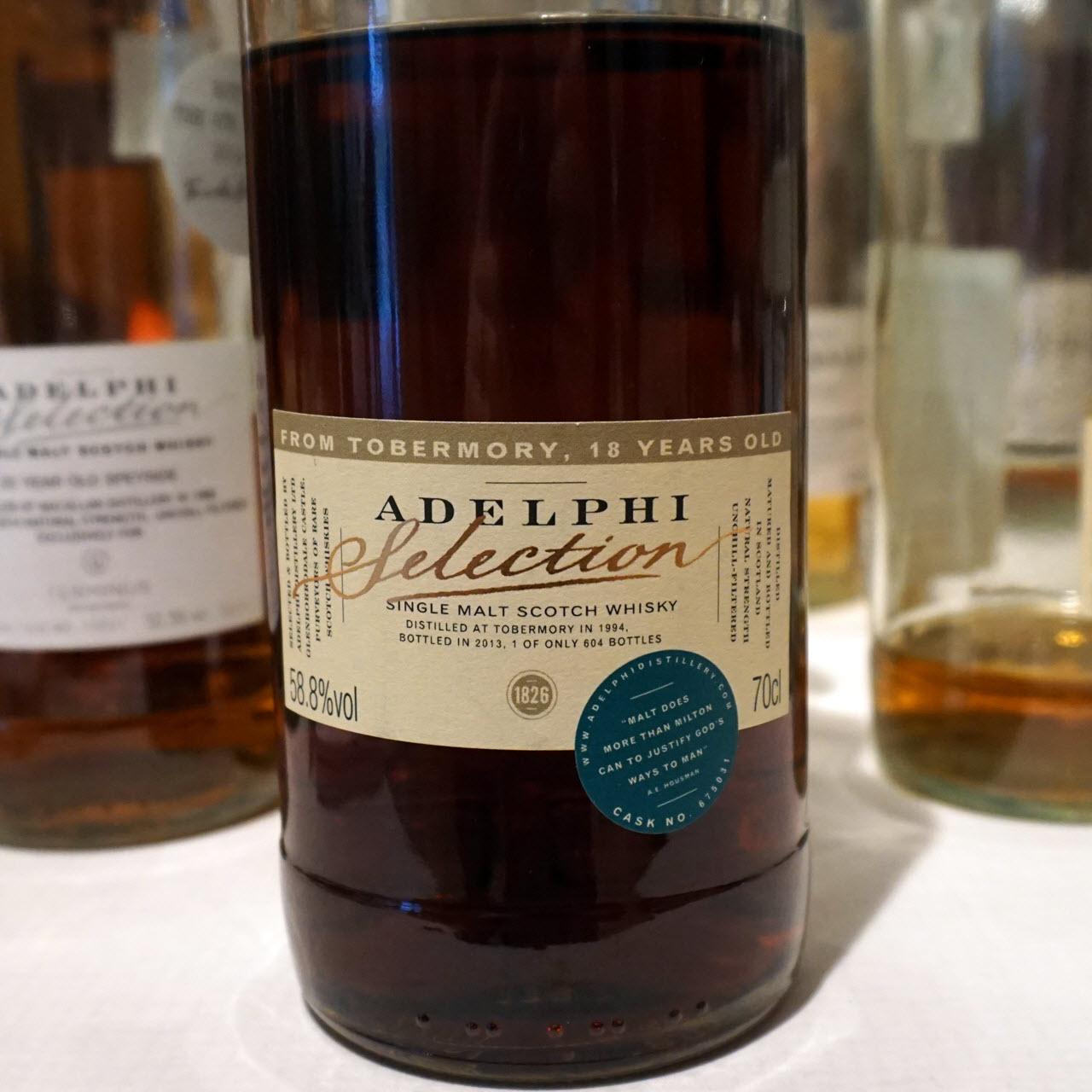 Tobermory 1994 18 YO Adelphi Selection