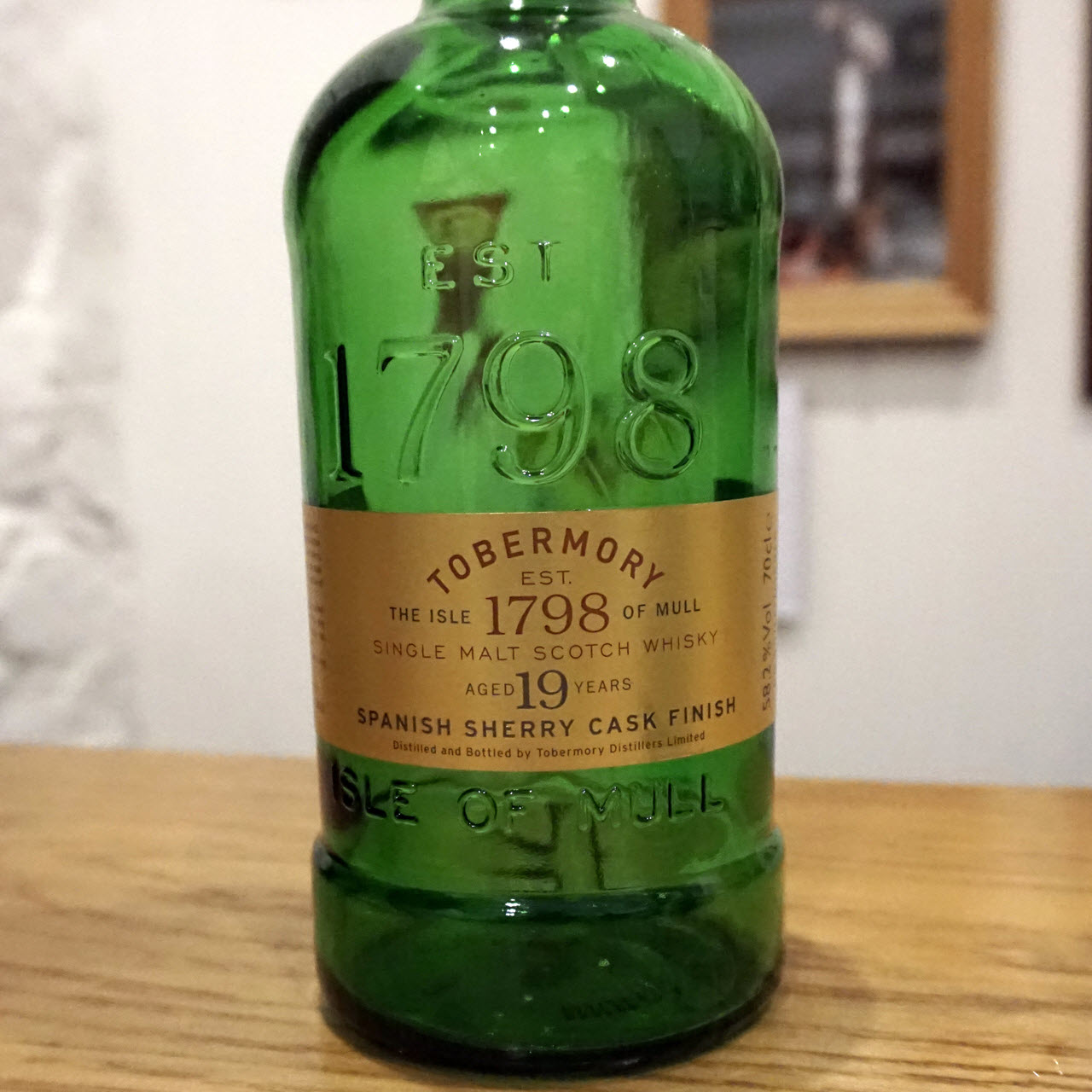 Tobermory 19 YO Spanish Sherry Cask Finish – Distillery Exclusive