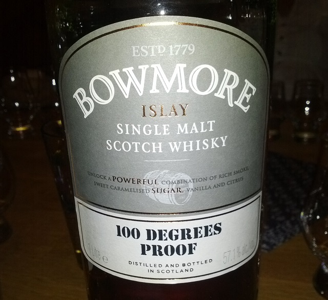 Bowmore 100 Degrees Proof