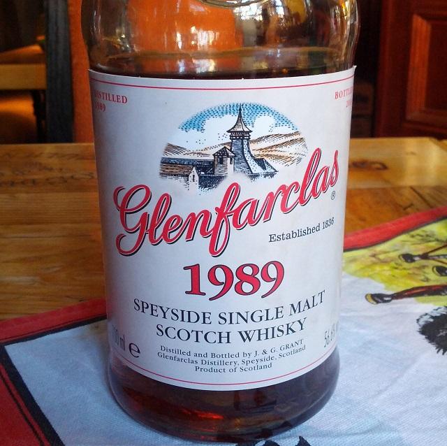 Glenfarclas 1989 25 YO for Villa Konthor