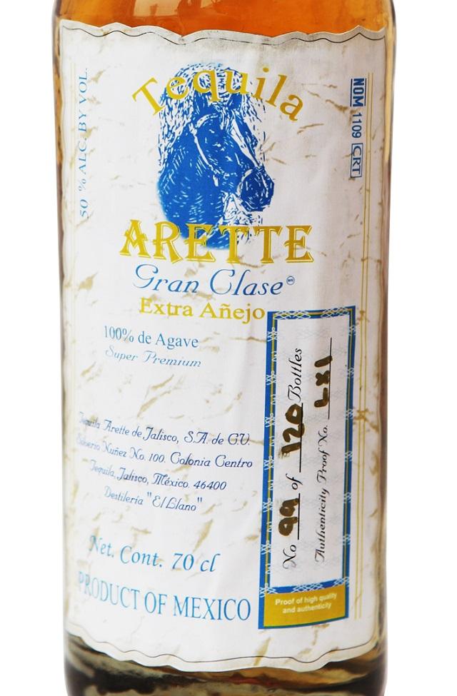 Arette Gran Clase Extra Añejo