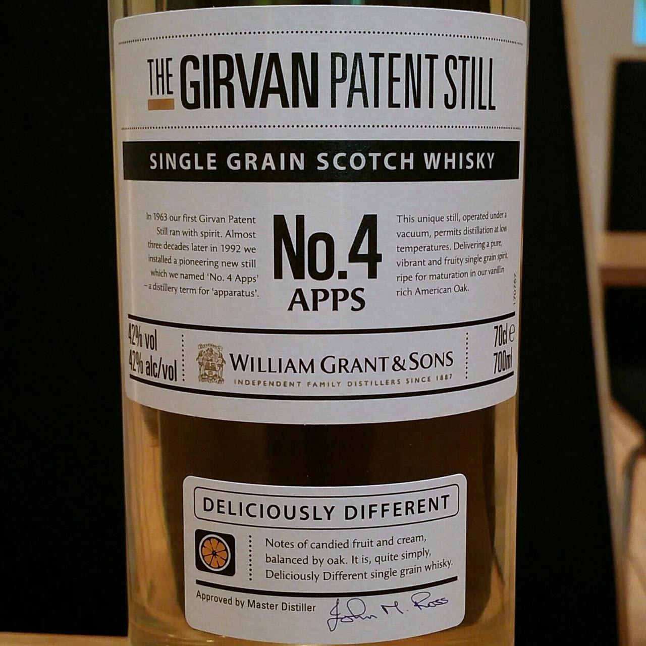 Girvan Patent Still No. 4 Apps