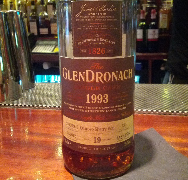 GlenDronach 1993 19 YO Single Cask