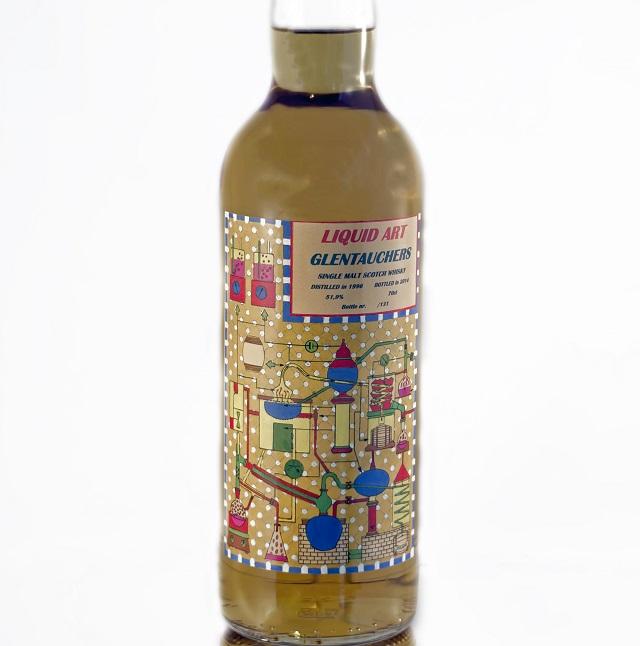 Glentauchers 1996 18 YO Liquid Art