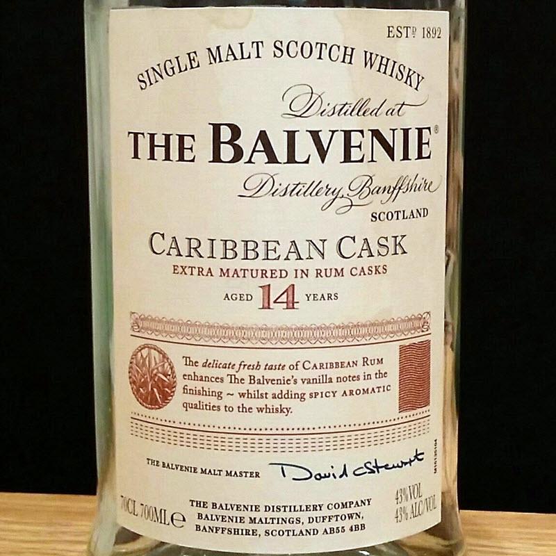 Balvenie 14 YO Caribbean Cask