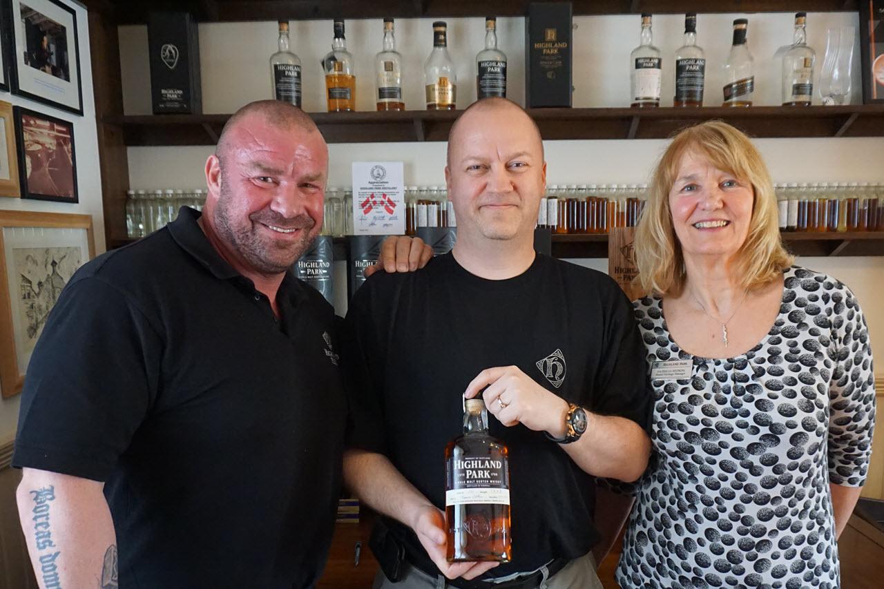 Highland Park Distillery - Hand-filled bottle