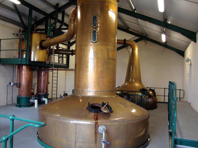 Scapa Distillery - stills
