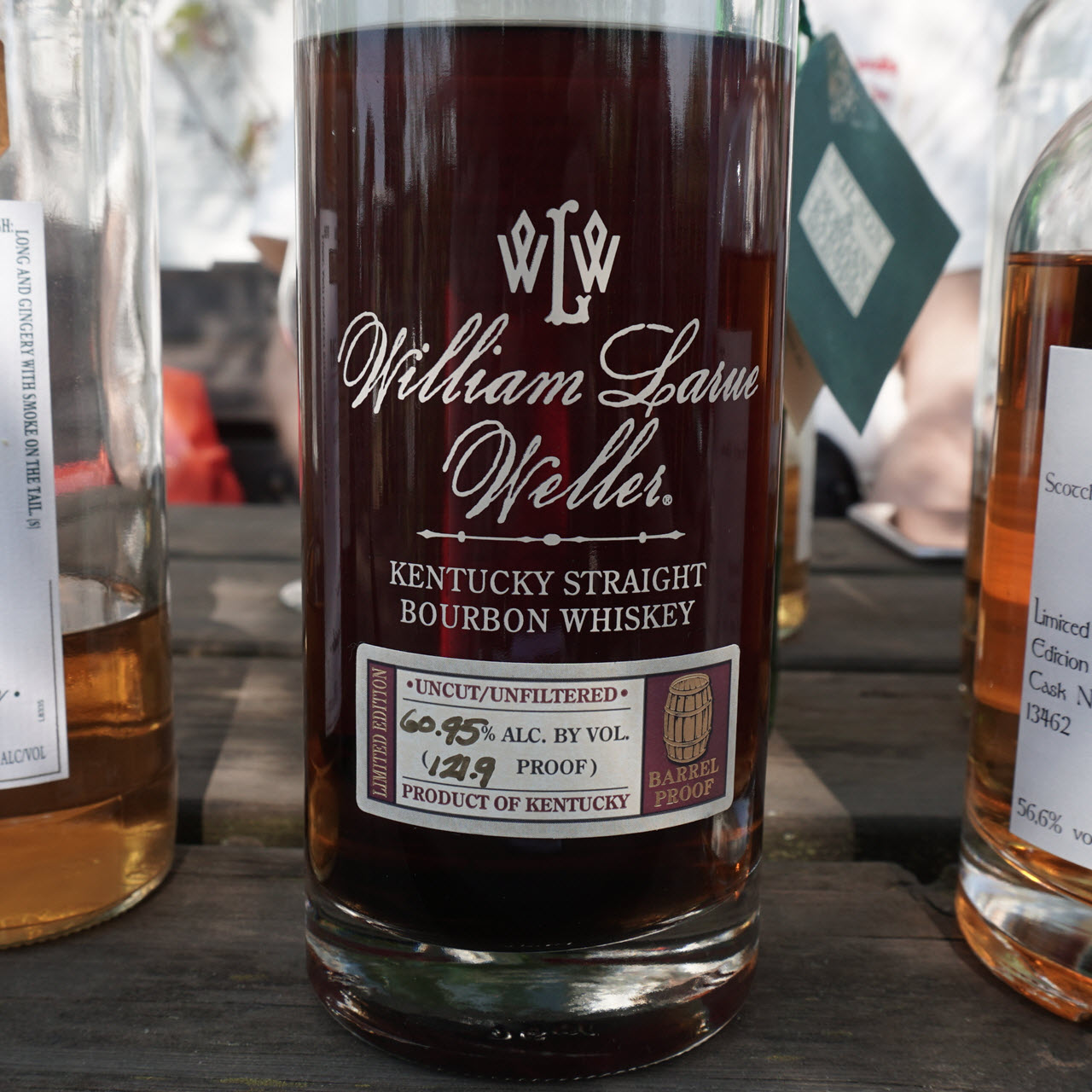 W. L. Weller 1993 12 YO Barrel proof - Antique Collection