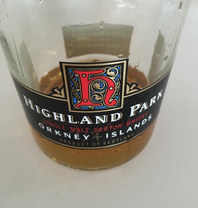Highland Park 12 YO (bottled early 1990s)