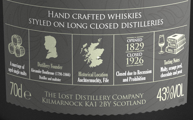 Stratheden Classic Selection - The Lost Distillery - details