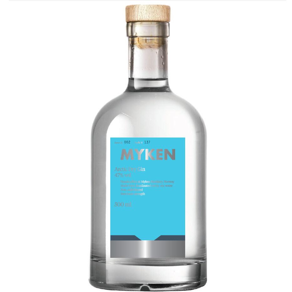 Myken Arctic Dry Gin