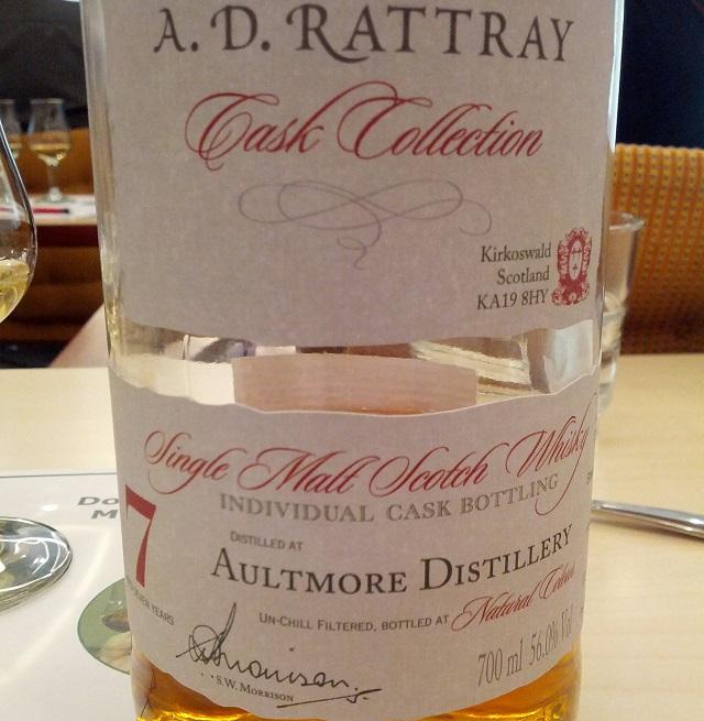 Aultmore 2007 7 YO A. D. Rattray Single Cask #900015