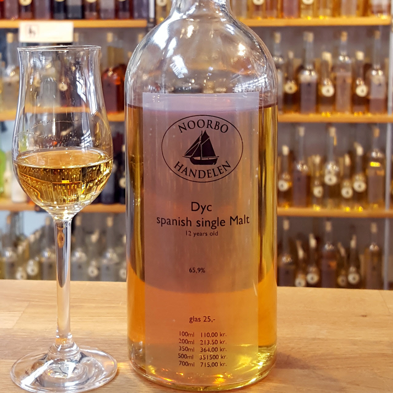 DYC 12 YO Spanish single malt whisky