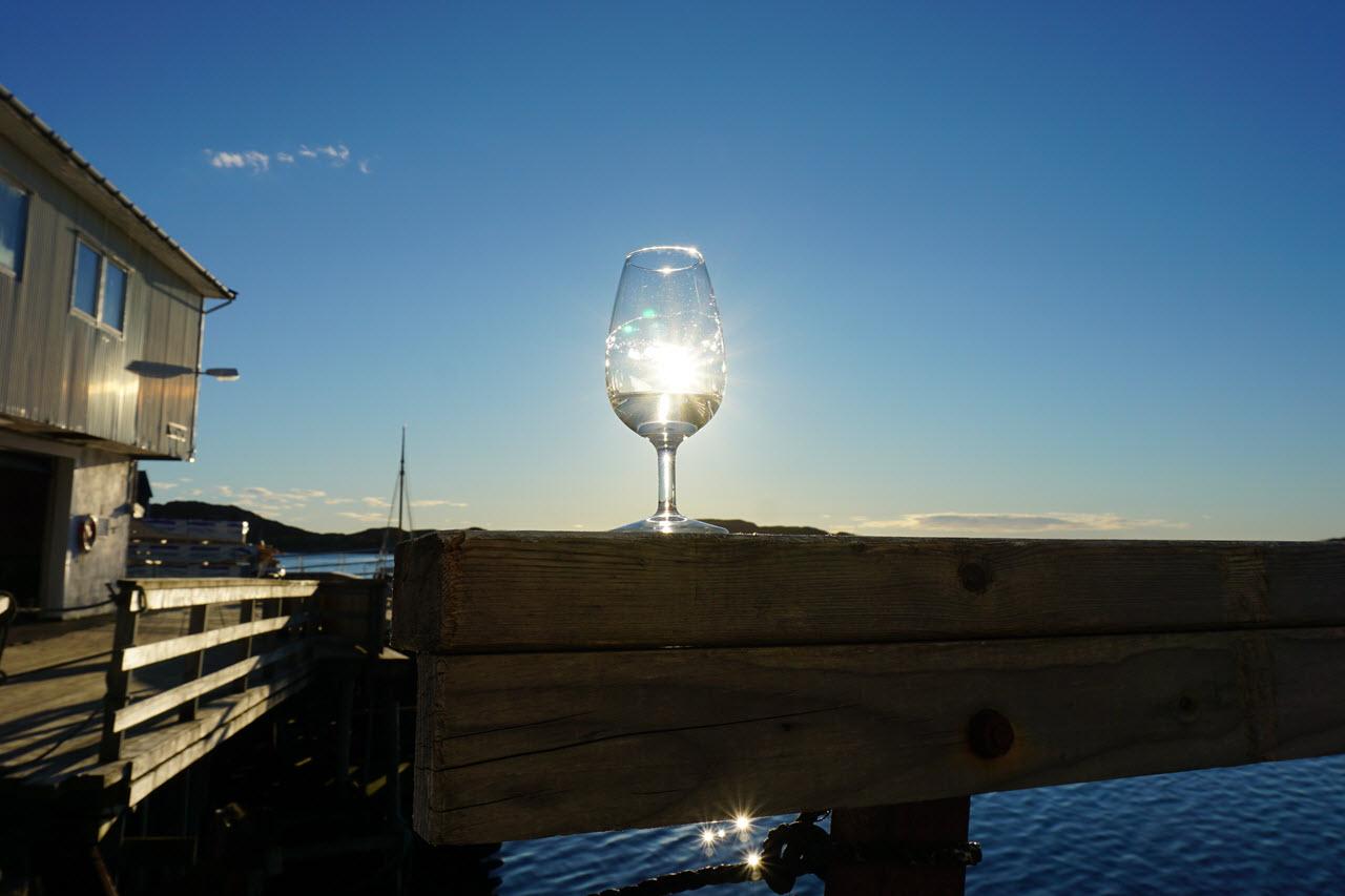 Myken Distillery - sunshine
