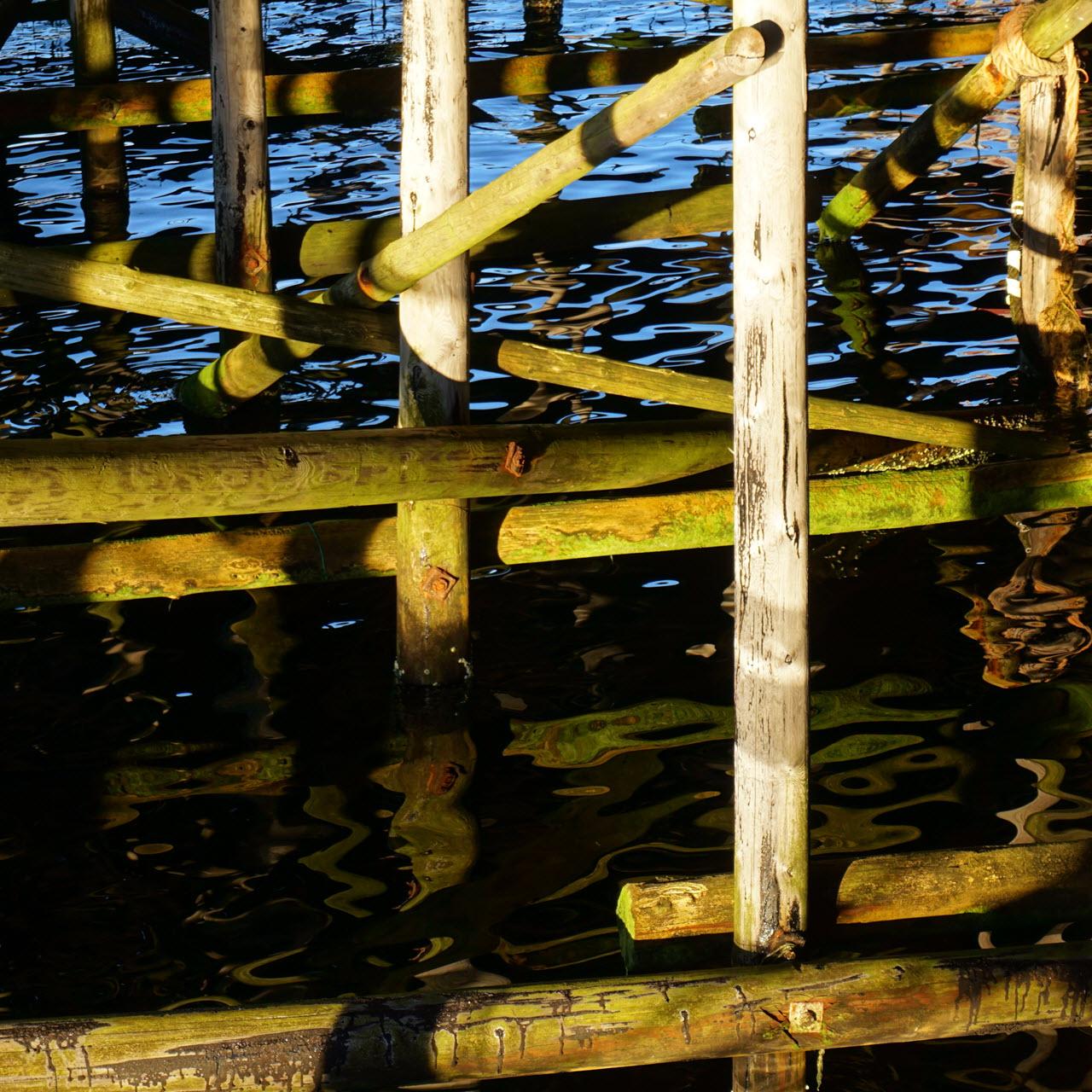 Myken Distillery - pier