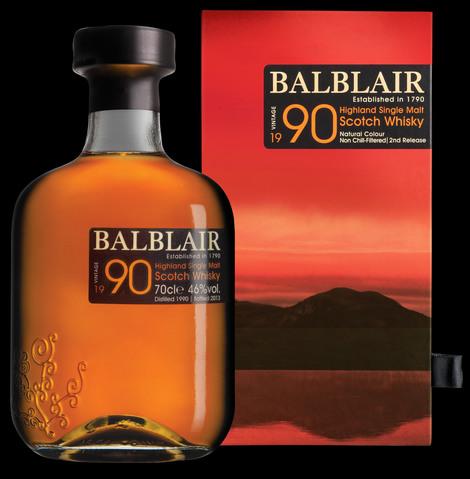 Balblair Vintage 1990 2nd release