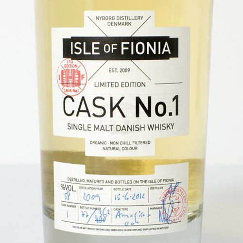Nordic Whisky #64 - Isle of Fionia - Cask No. 1