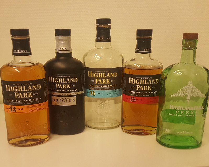 Highland Park 16 YO - tasting Highland Park in Stockholm