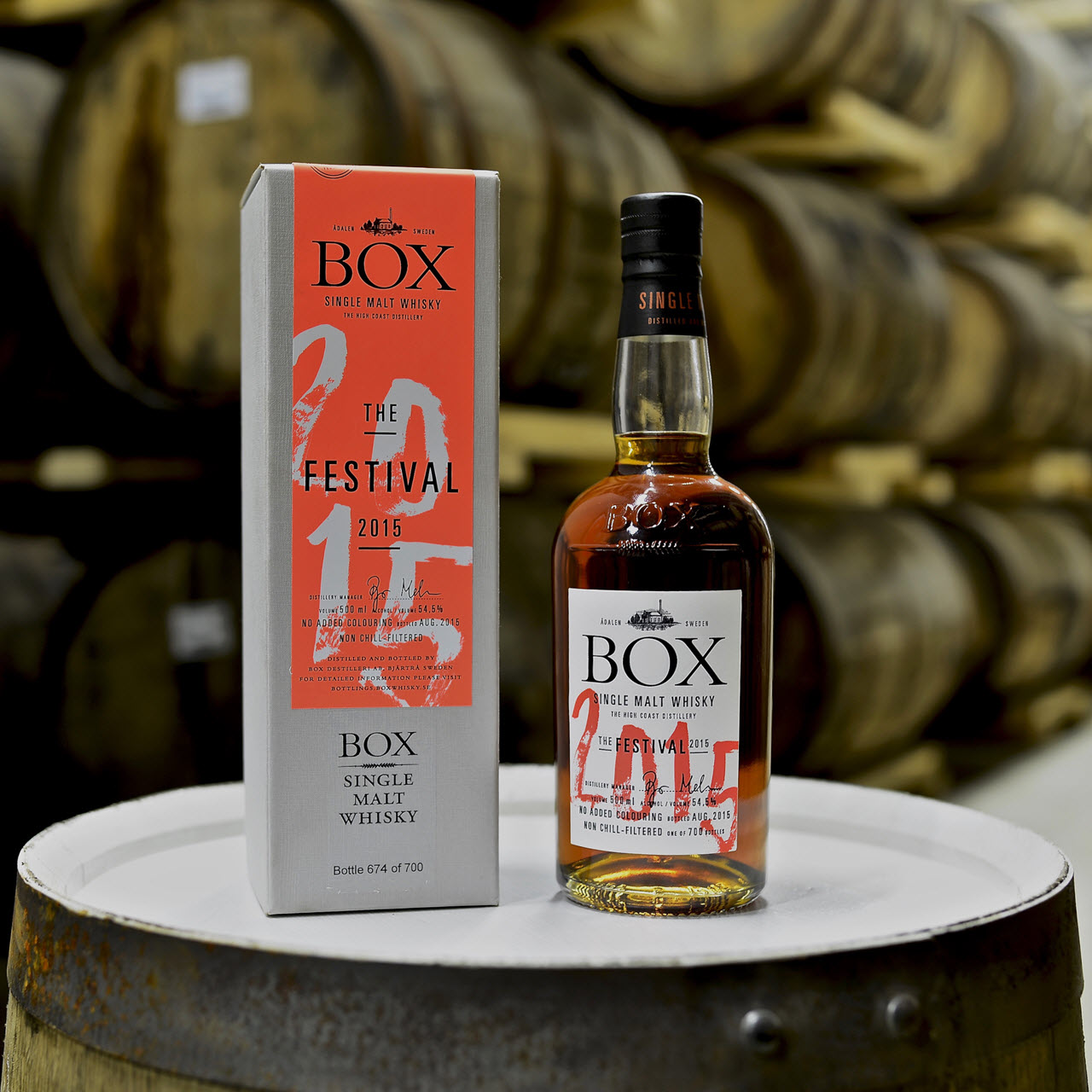 Box Whisky The Festival 2015