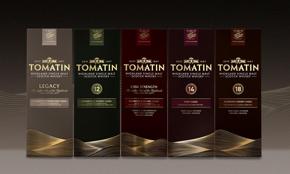 Tomatin Distillery - core range