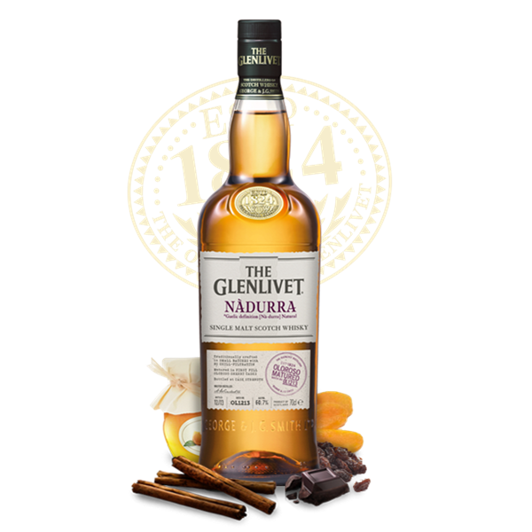 The Glenlivet Nadurra Cask Strength