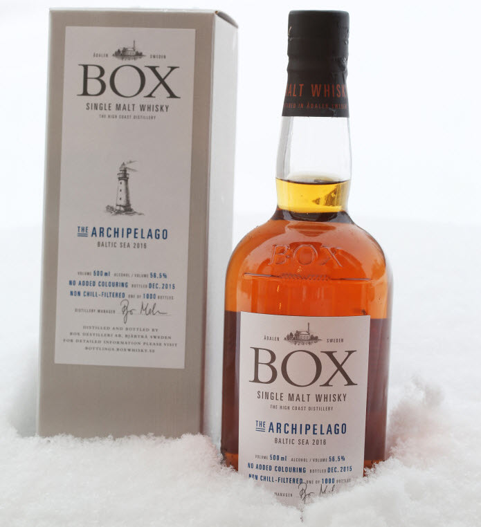 Box Whisky The Archipelago Baltic Sea 2016