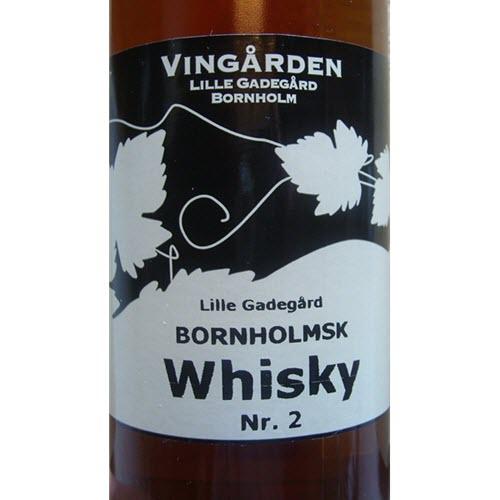 Vingården Lille Gadegård Bornholmsk Whisky Nr. 2