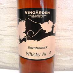 Vingården Lille Gadegård Bornholmsk Whisky Nr. 4