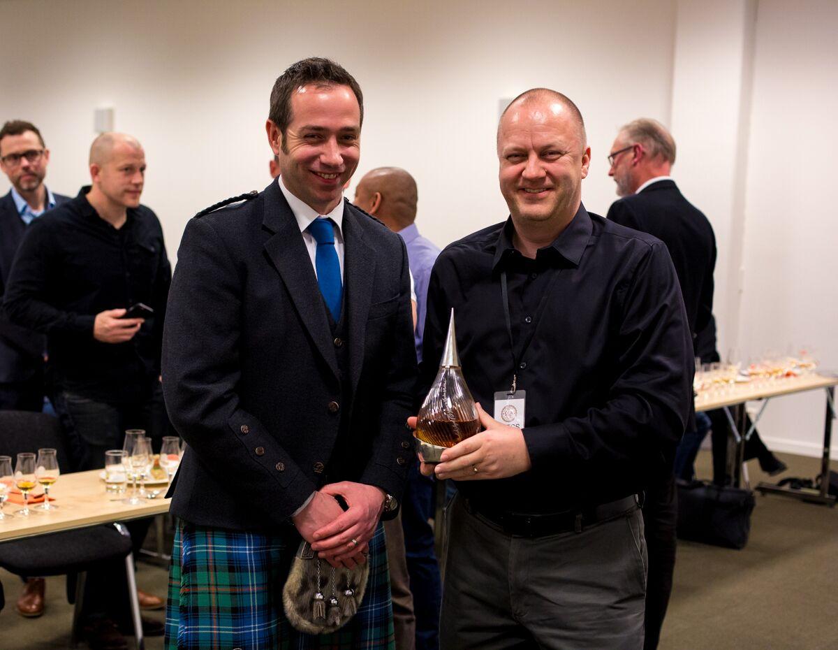 Tasting the world's oldest whisky - Stuart Urquhart and Whisky Saga