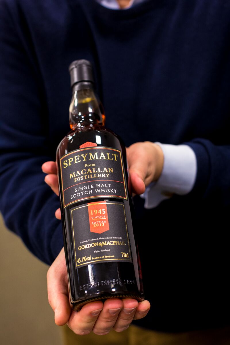 Tasting the world's oldest whisky - the Macallan