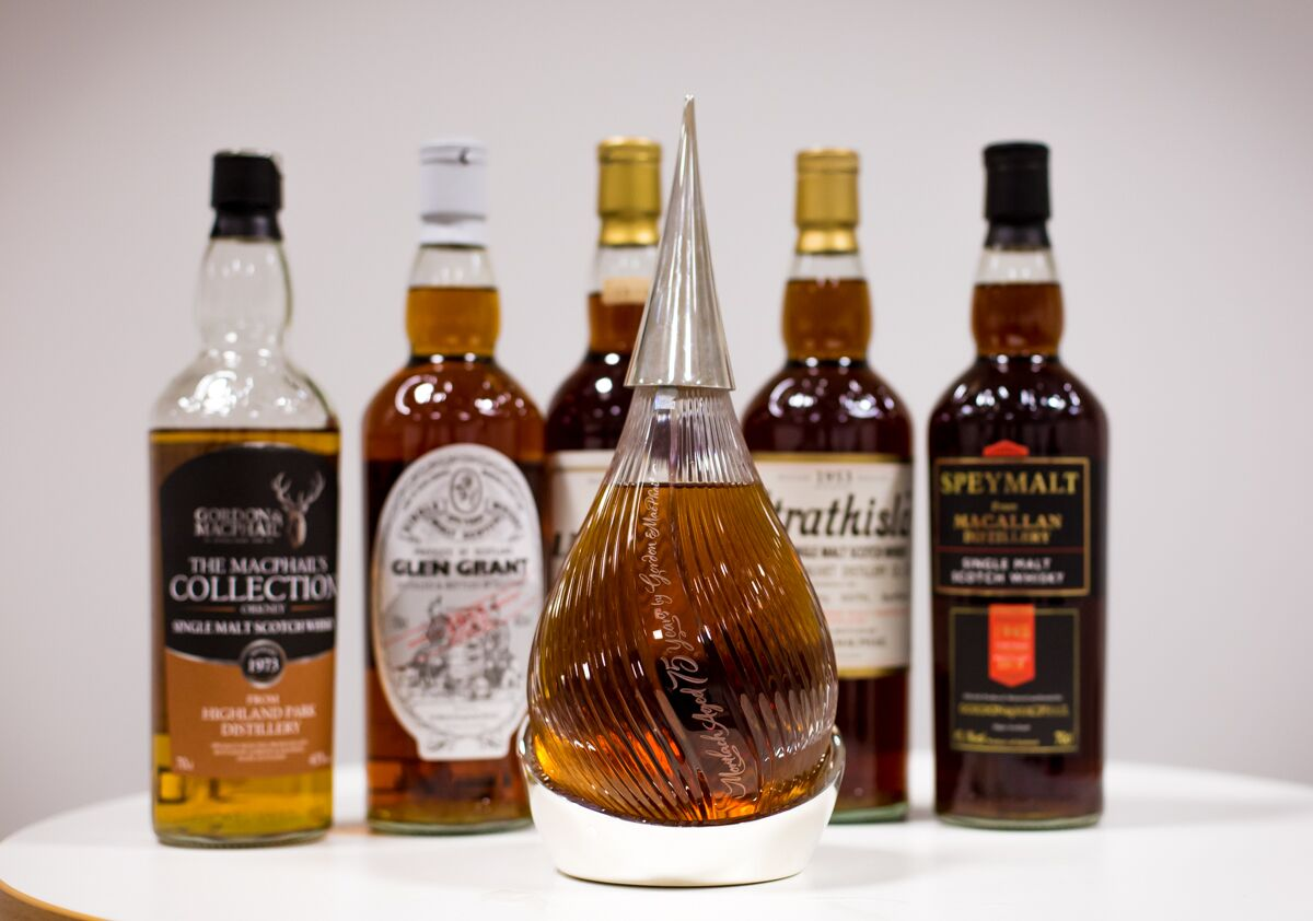 Tasting the world's oldest whisky - the line-up