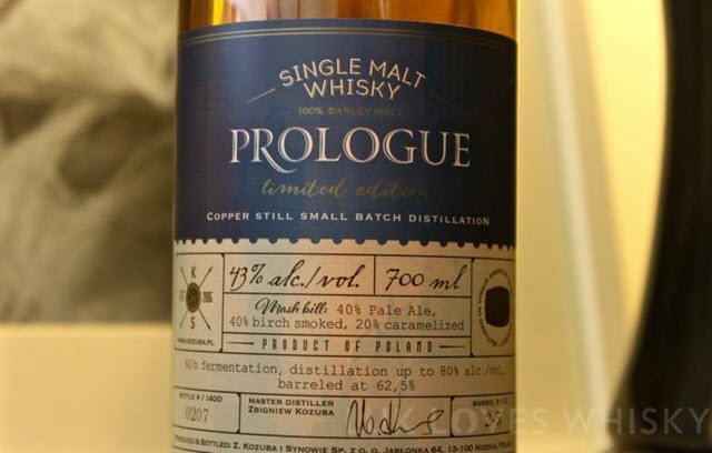 Prologue Limited Edition (Kozuba & Sons)