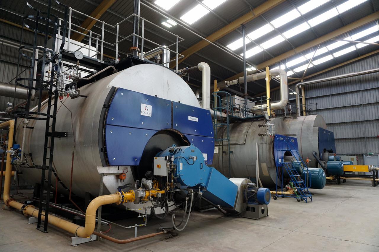 Visiting Ailsa Bay - power plant
