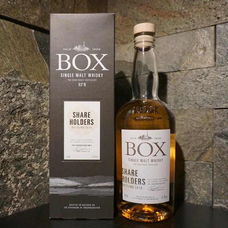 Box Whisky Shareholders 2016