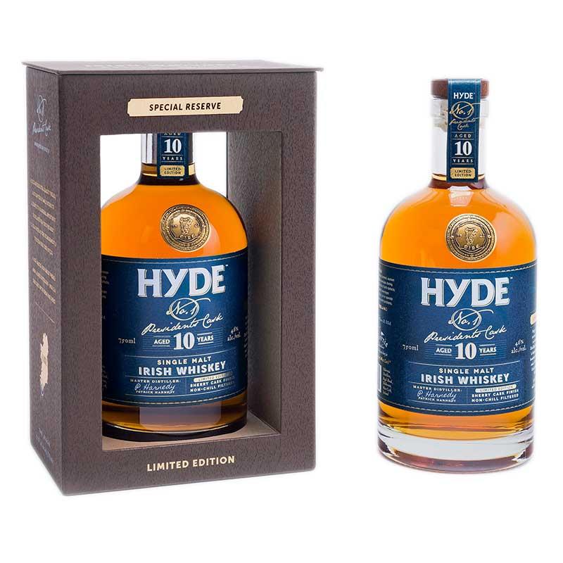 Hyde 10 YO No. 1 President's Cask