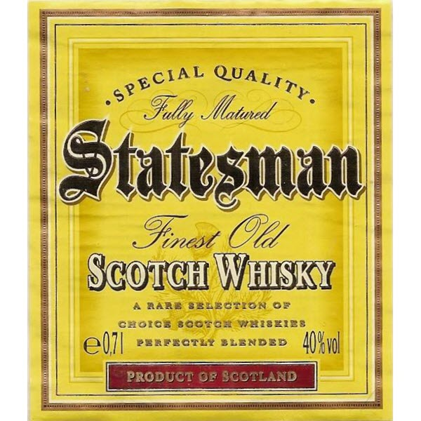 Statesman Finest Old Scotch Whisky