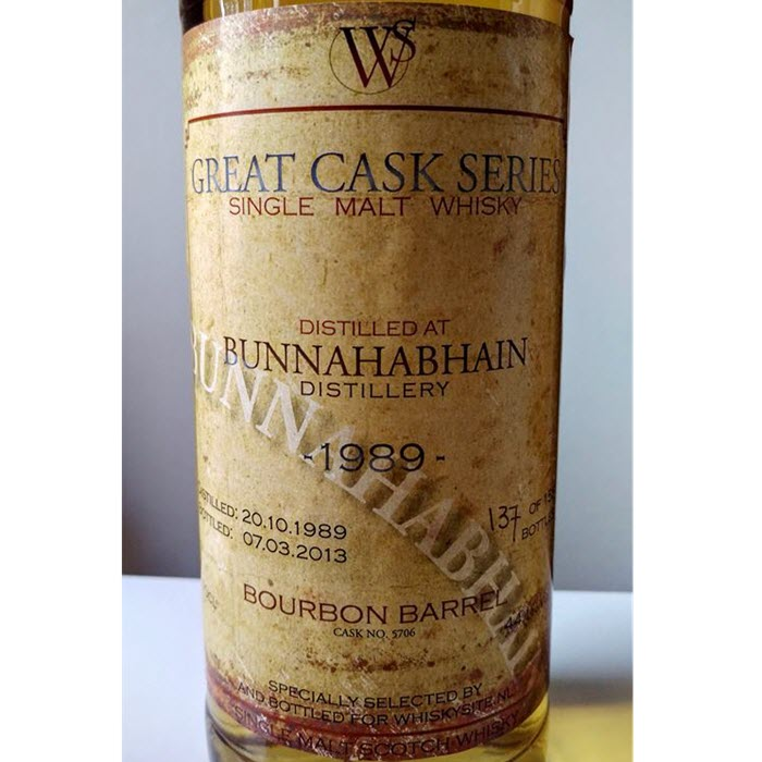 Bunnahabhain 1989 23 YO Great Cask Series