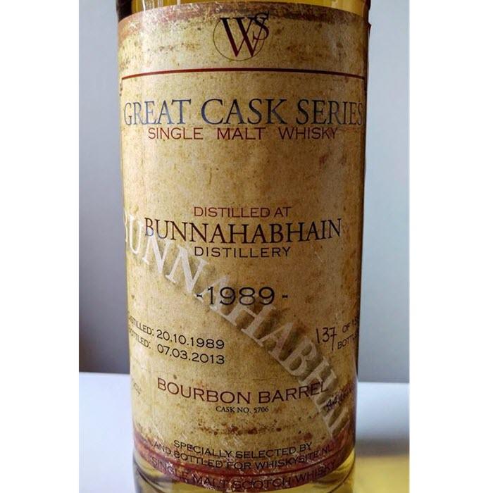 Bunnahabhain 1989 23 YO Great Cask Series