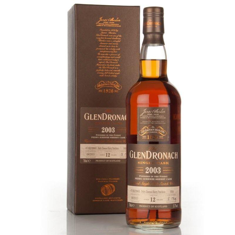 GlenDronach 2003 12 YO (cask #934) - Batch 12