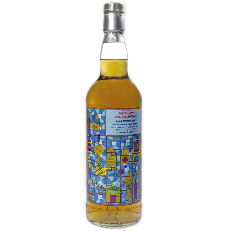 Invergordon 1973 Distilling is an Art (Liquid Art & Beacon Spirits)