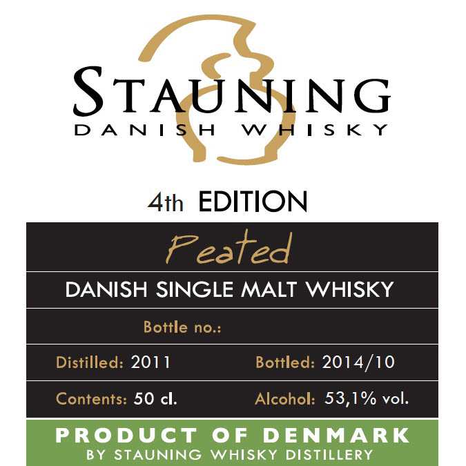Stauning Peated 4th Edition