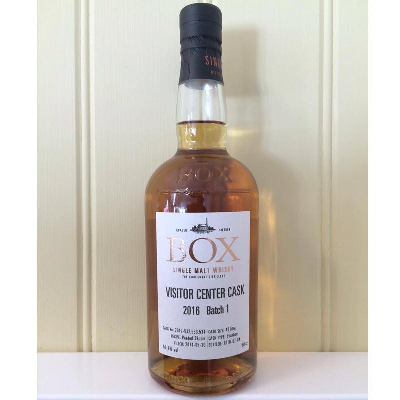 Box Whisky Visitor Center Cask 2016 Batch 1