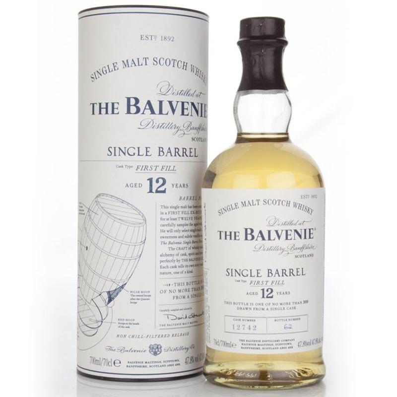 Balvenie 12 YO Single Barrel First Fill