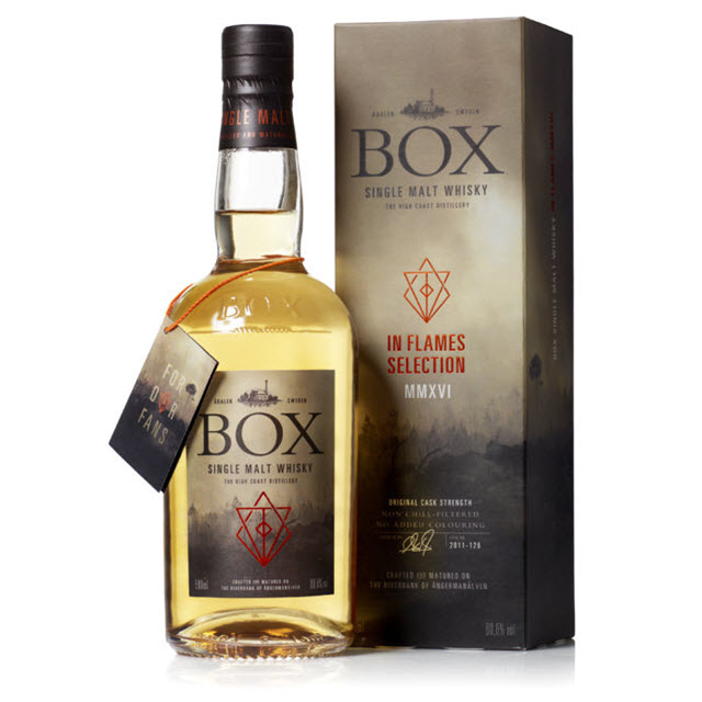Box Whisky In Flames Selection