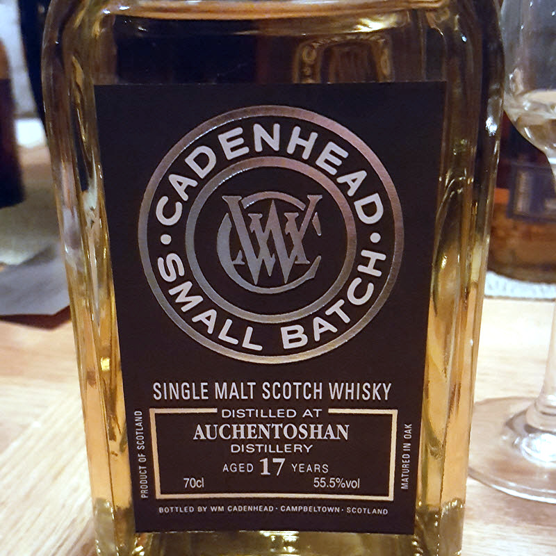 Auchentoshan 1999 17 YO Cadenhead Small Batch