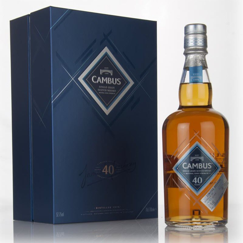 Cambus 1975 40 YO (Special Releases 2016)